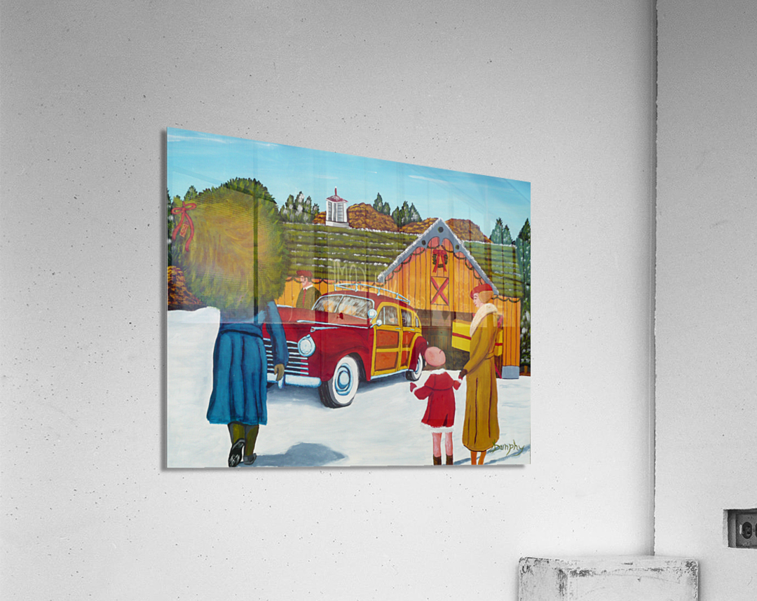 Buying The Tree  Acrylic Print