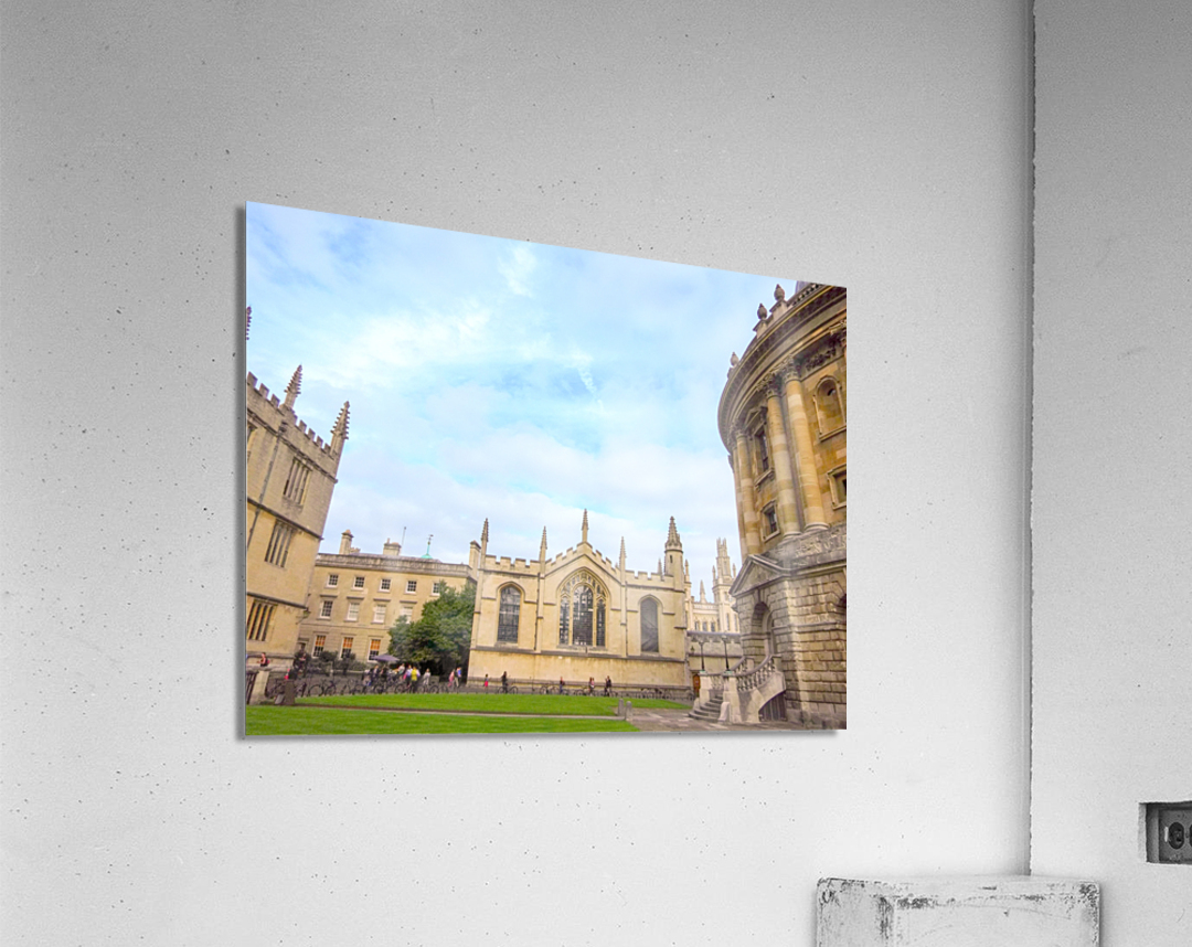 Snapshot in Time Presents a Visit to Oxford 2 of 8  Acrylic Print