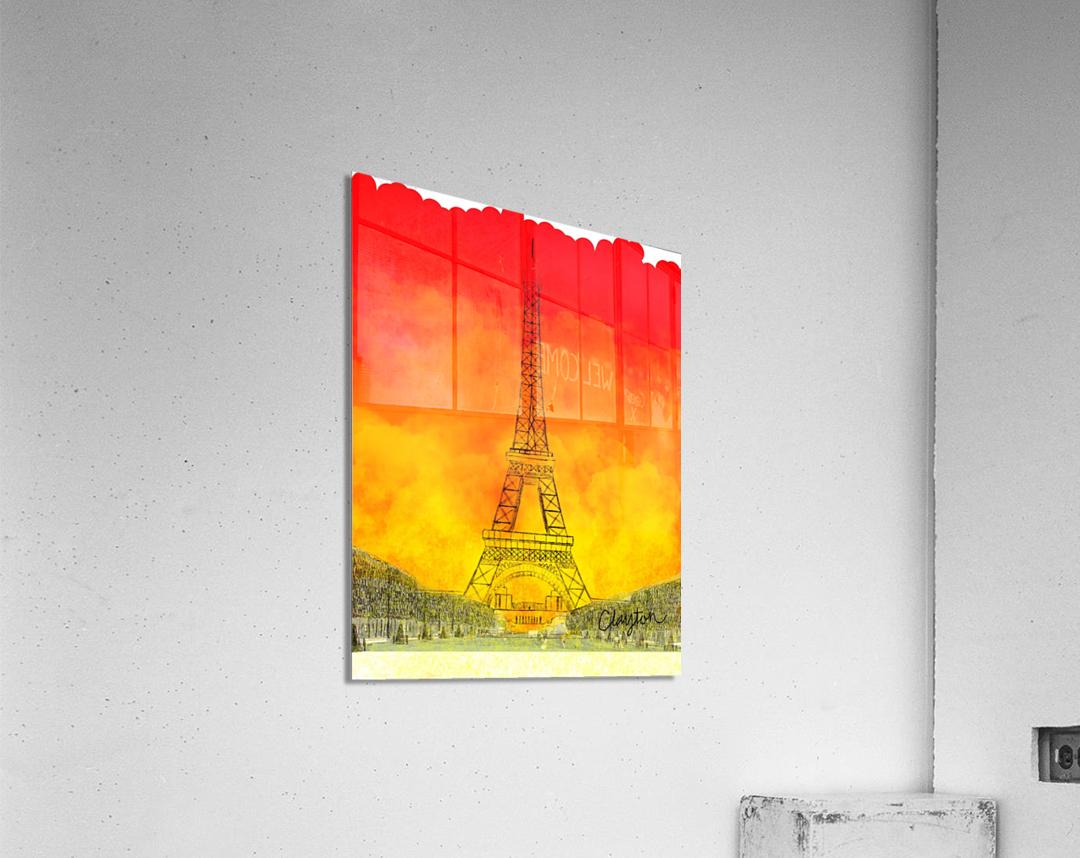 Eiffel Tower. Clayton T  Acrylic Print