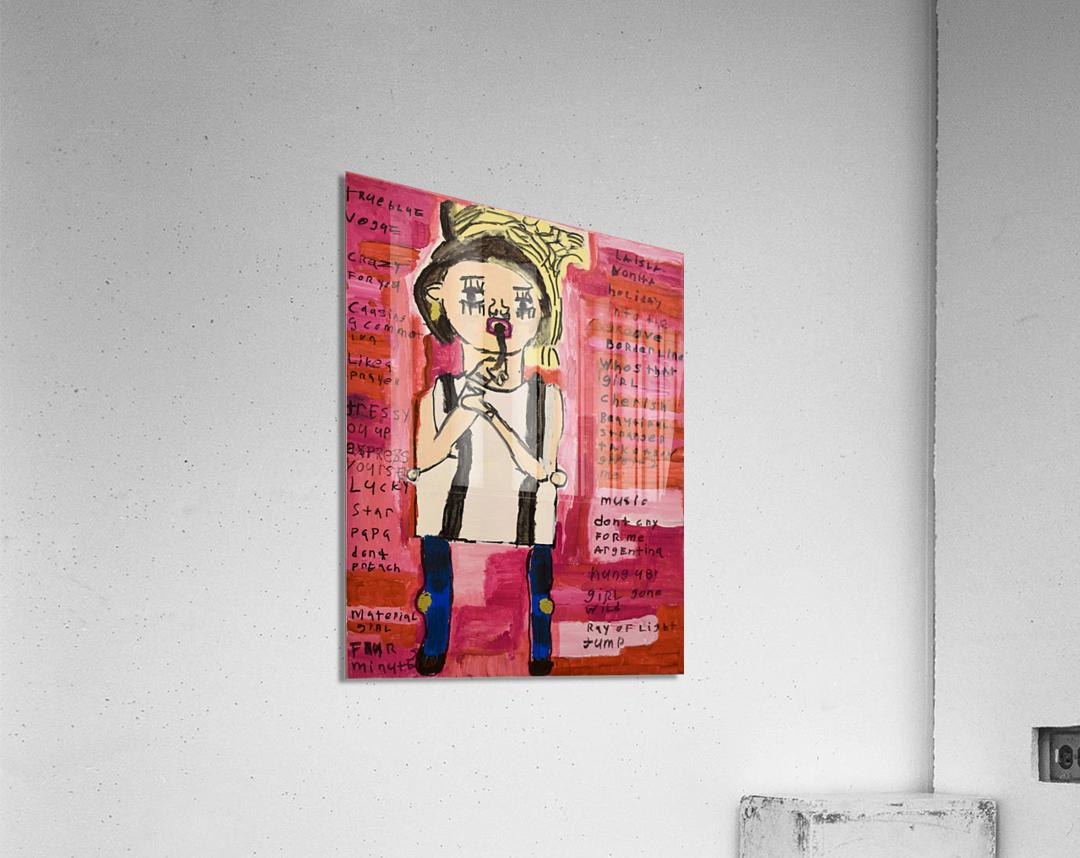 Madonna. Rick F  Acrylic Print