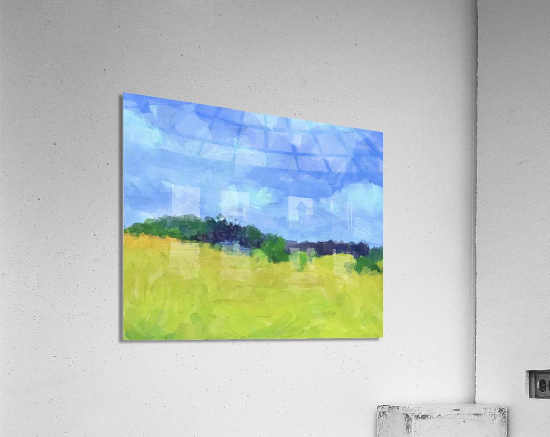 Parkton Landscape in Spring Green  Acrylic Print