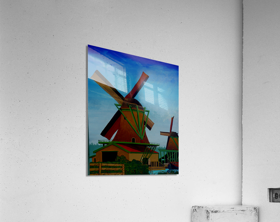 Catching The Wind  Acrylic Print