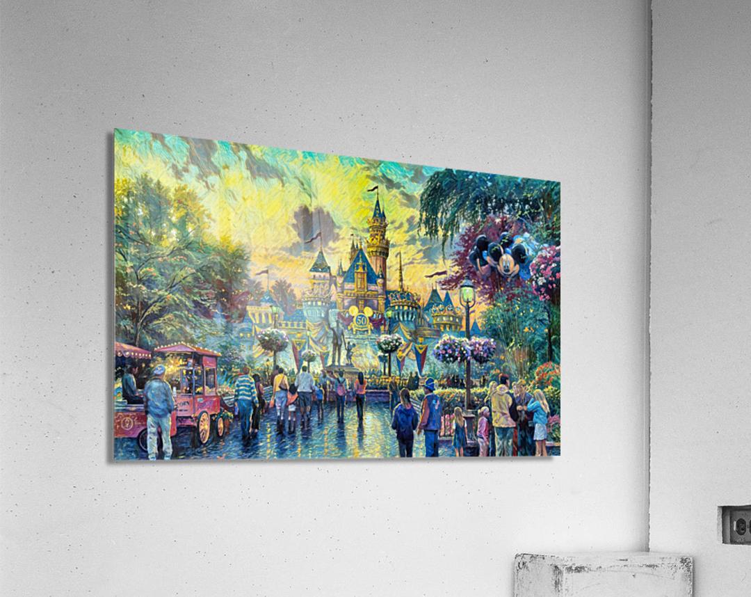 Day At Disney  Acrylic Print