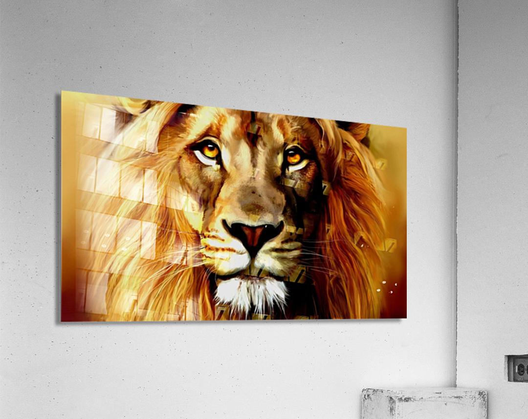 Majestic Beast   Acrylic Print