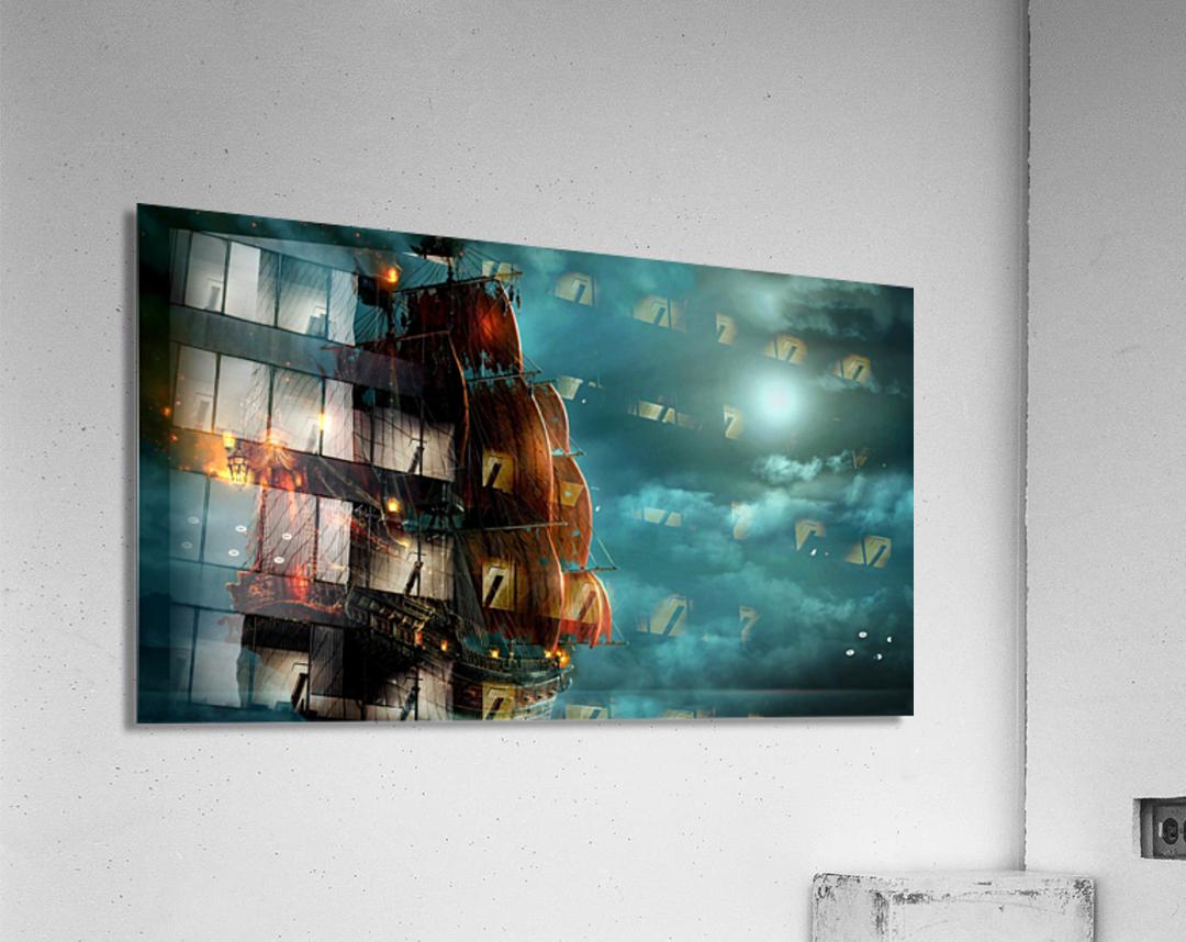 Pirate Ship   Acrylic Print