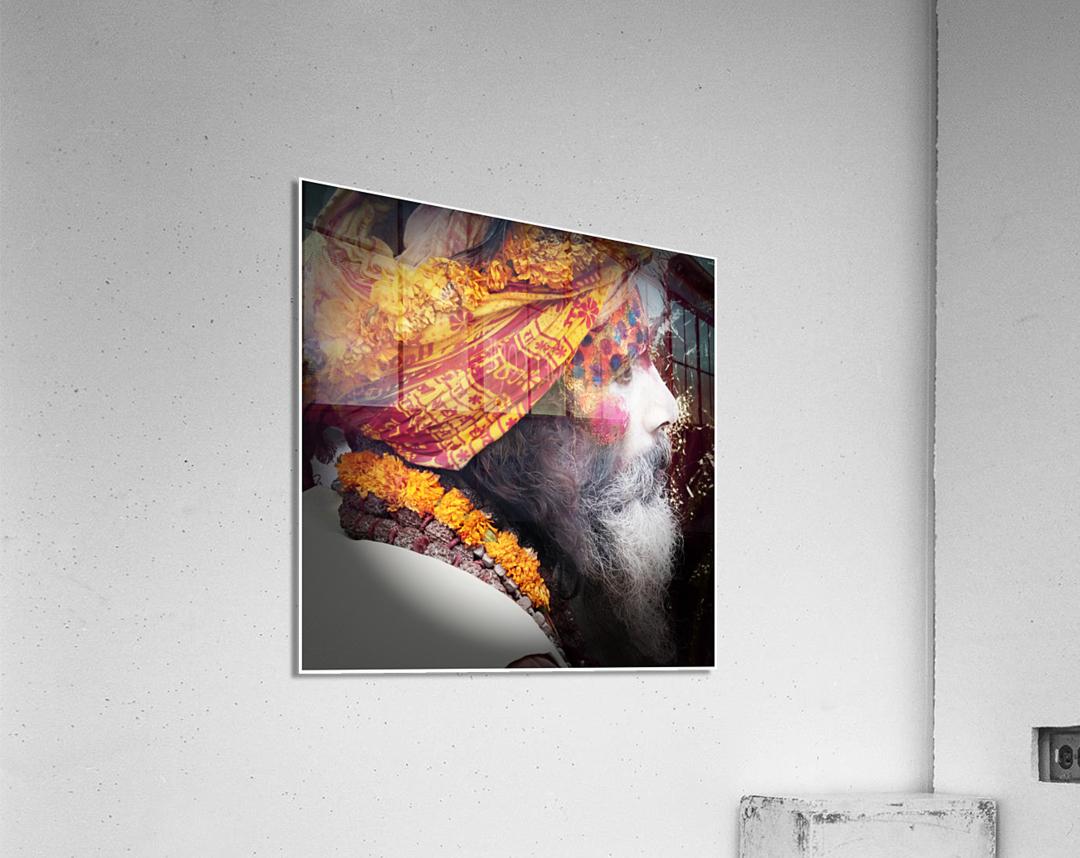 Priest India  Acrylic Print