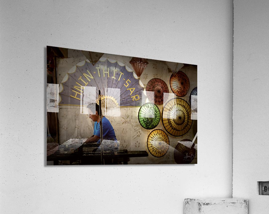 Umbrella maker  Acrylic Print