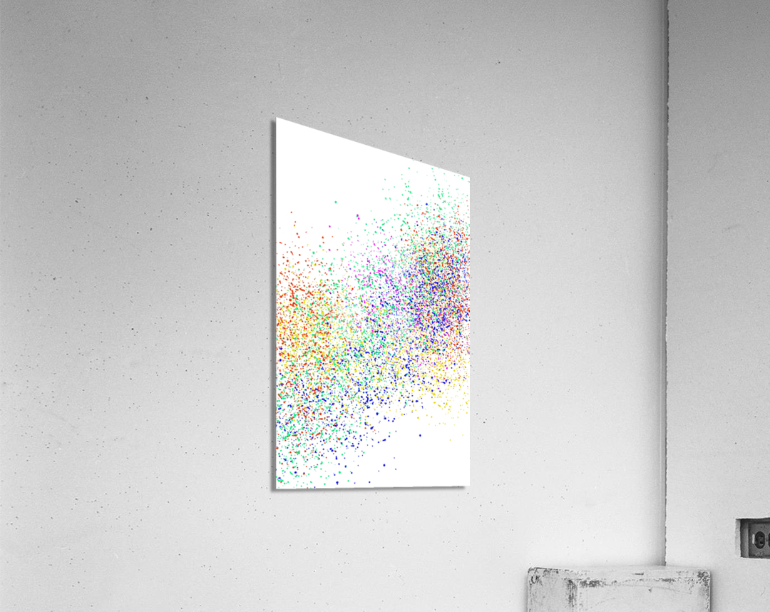 ABSTRACT PAINTING 47  Acrylic Print