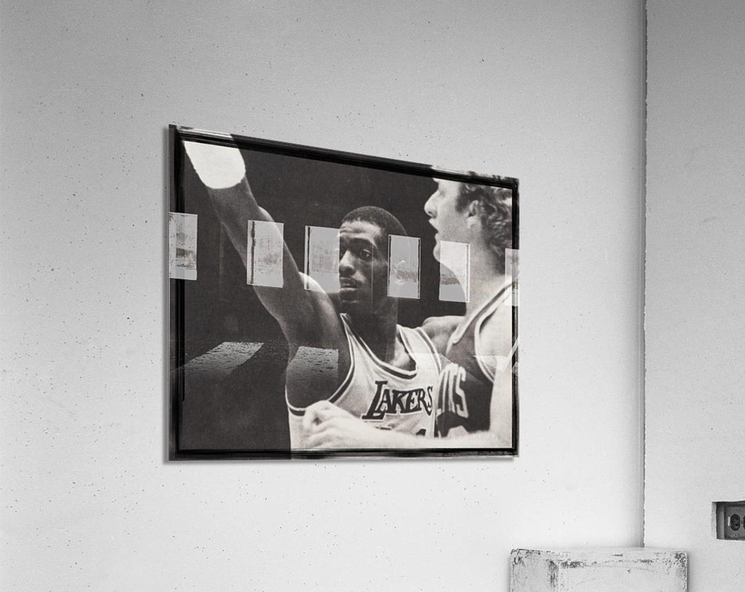 Michael Cooper and Larry Bird Film Strip  Acrylic Print