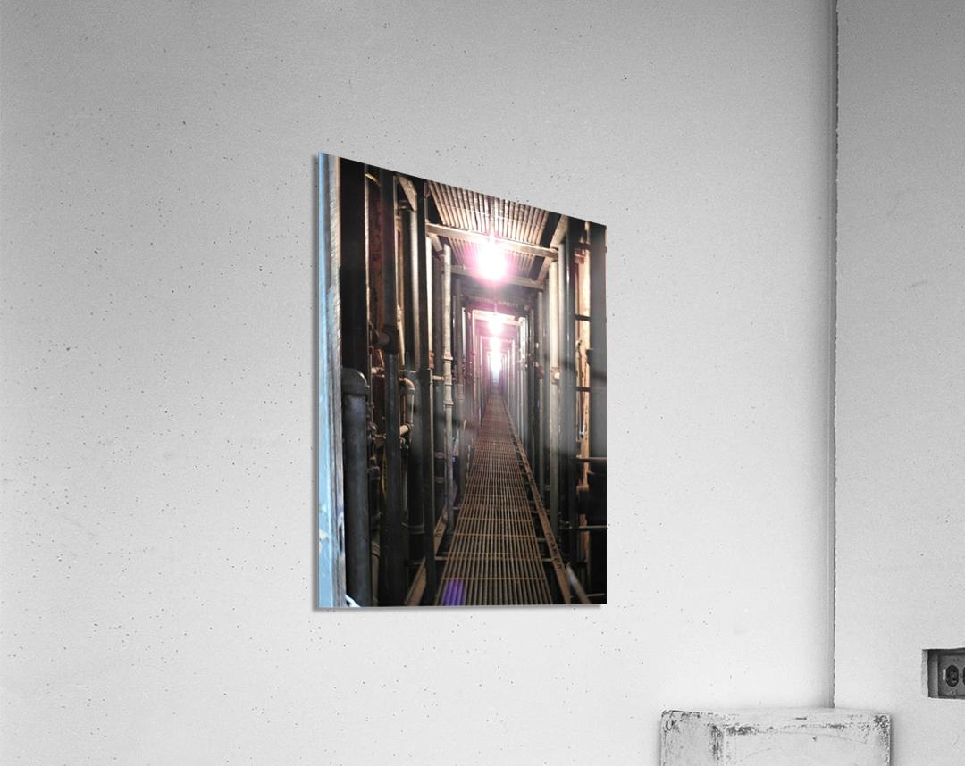Plumbers Nightmare  Acrylic Print