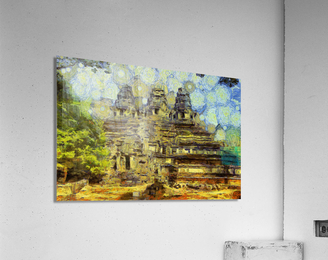 CAMBODIA 128 Angkor Wat  Siem Reap VincentHD  Acrylic Print