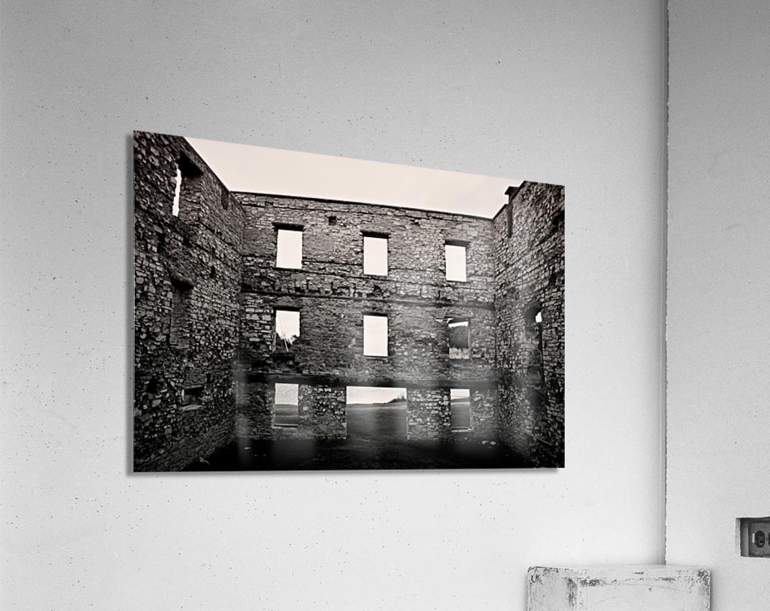 Stone Structure  Acrylic Print