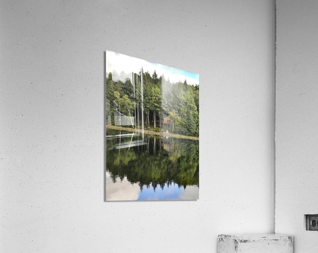 The Reflection  Acrylic Print