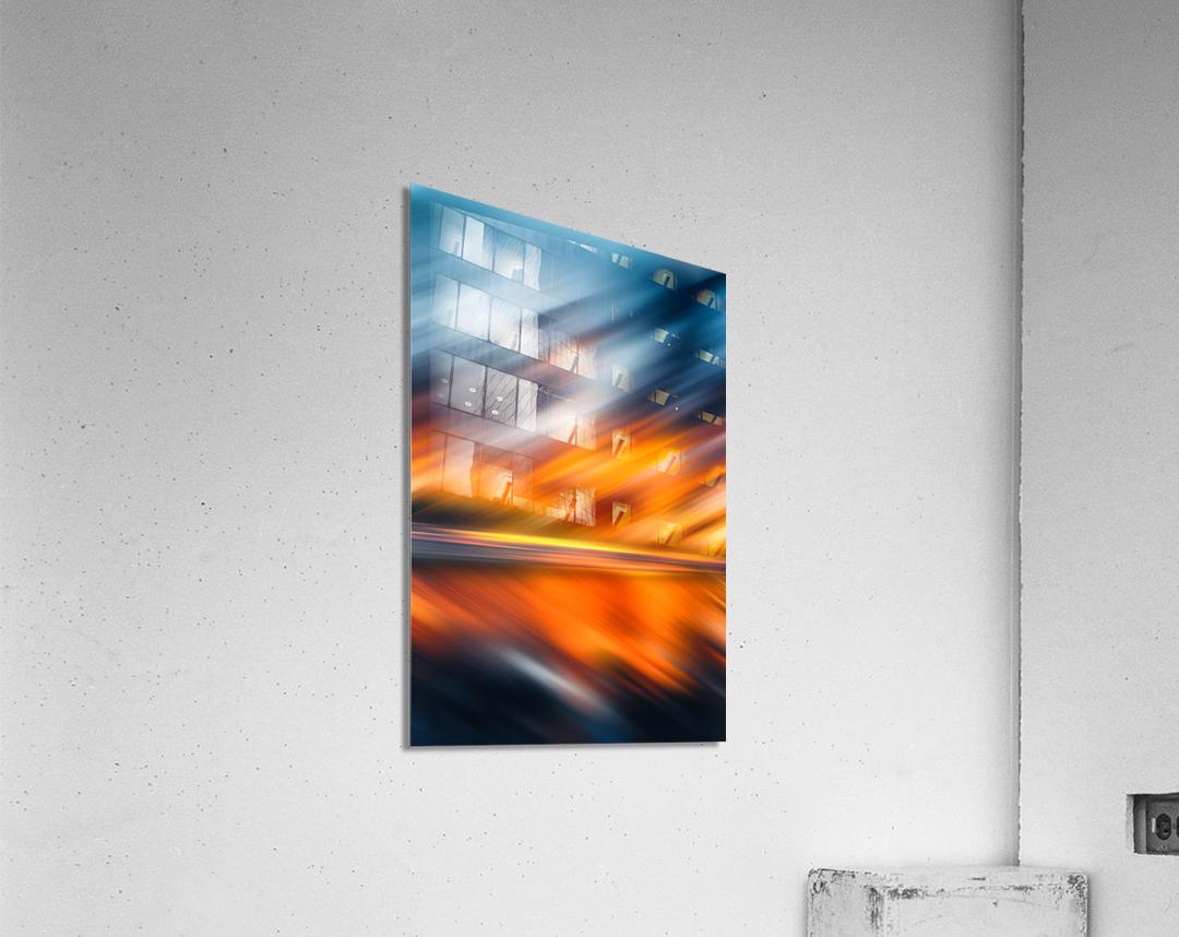 Abstract Movement XXXV  Acrylic Print