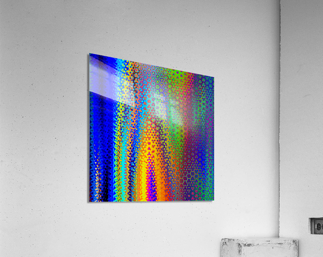 psychedelic wave  Acrylic Print