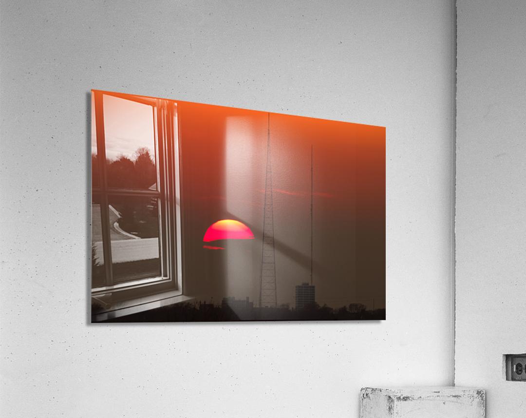 KCMO Tower Sunset   Acrylic Print