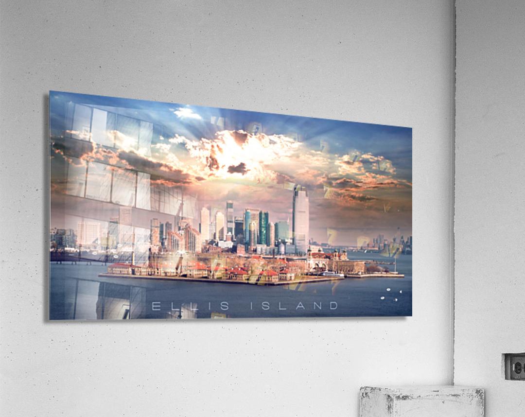 Ellis Island  Acrylic Print