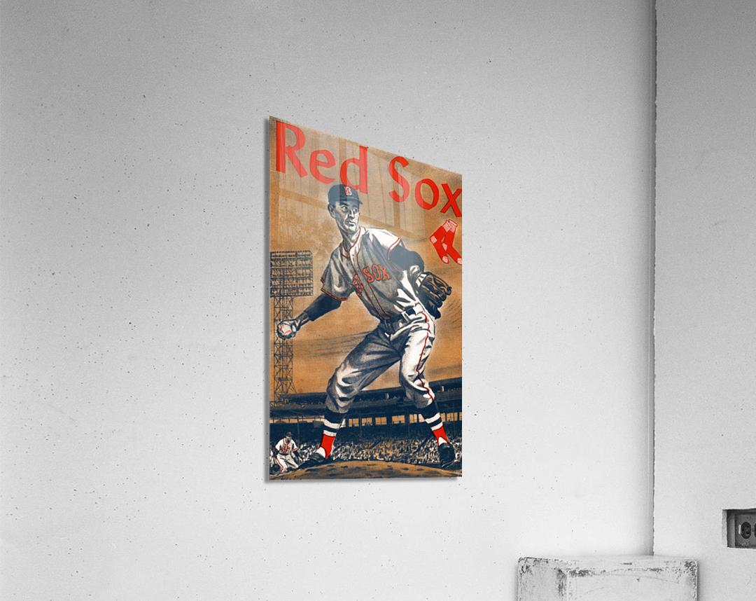 1960 Boston Red Sox Remix Art  Acrylic Print