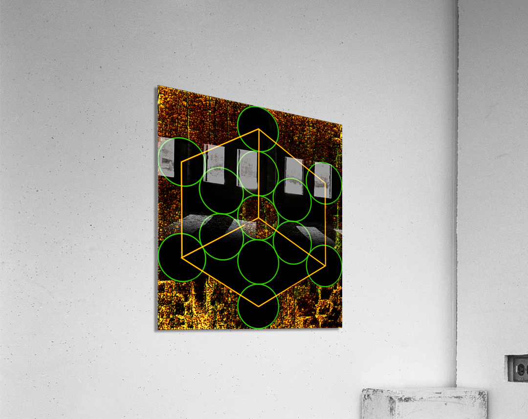 Experiments with Geometry 3  Acrylic Print