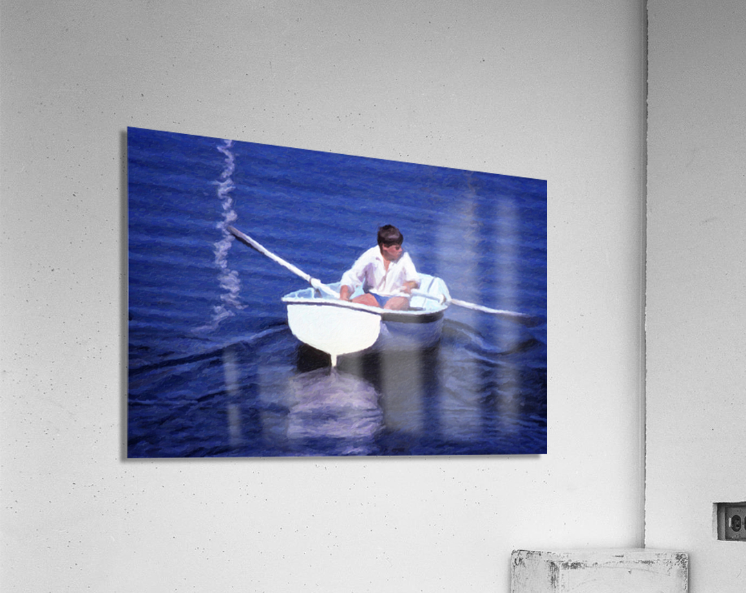 Rower  Acrylic Print