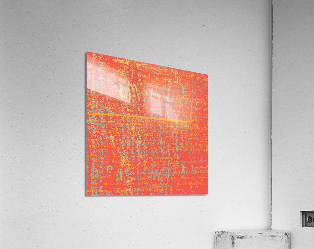 Nightheart IV  Acrylic Print