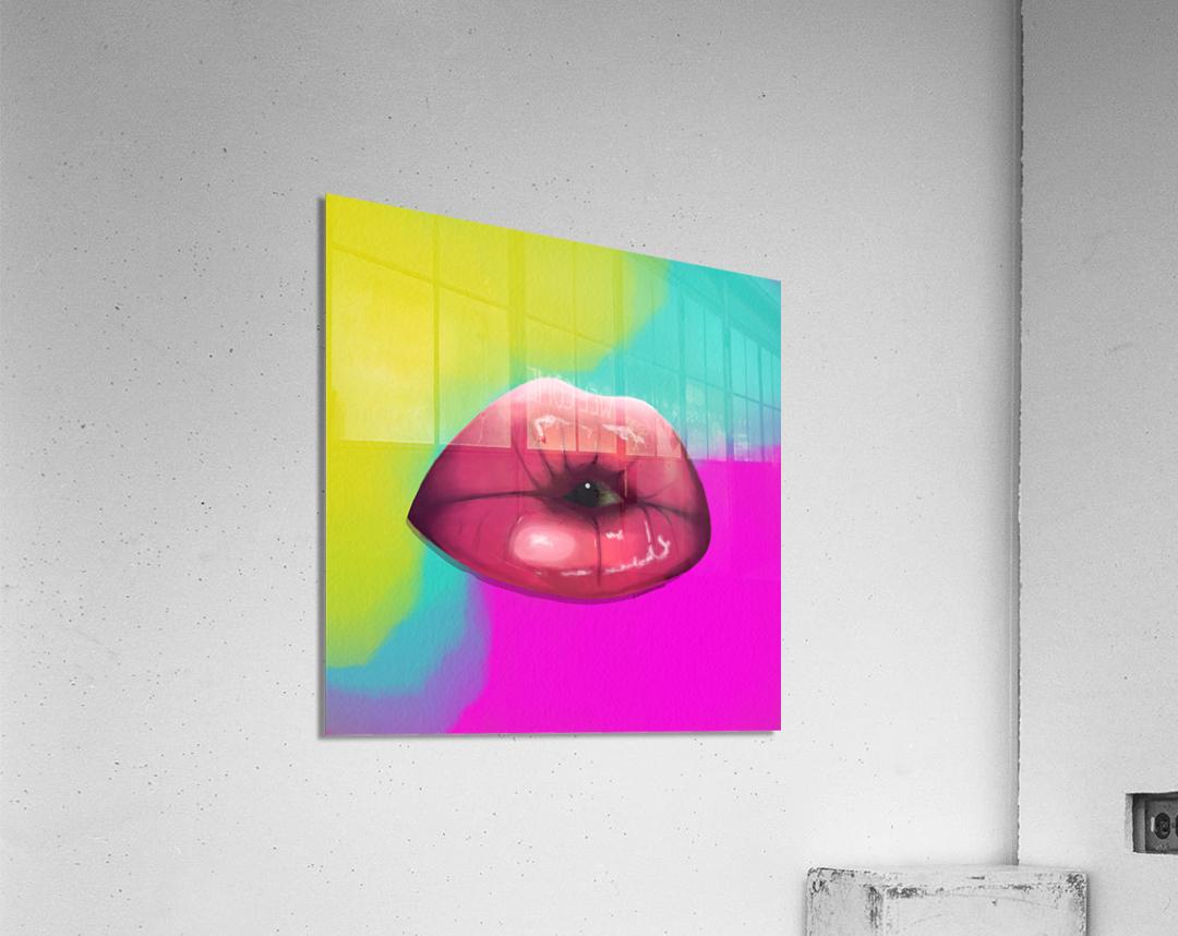 More Lies  Acrylic Print