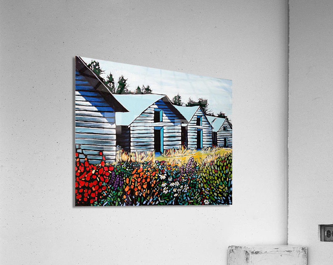 Summer on the Farm  Acrylic Print