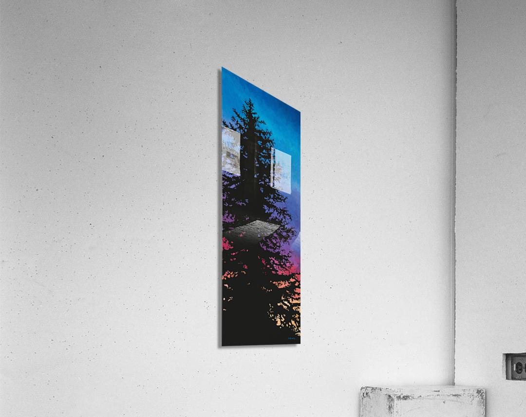 Coucher De Soleil Nord  Acrylic Print