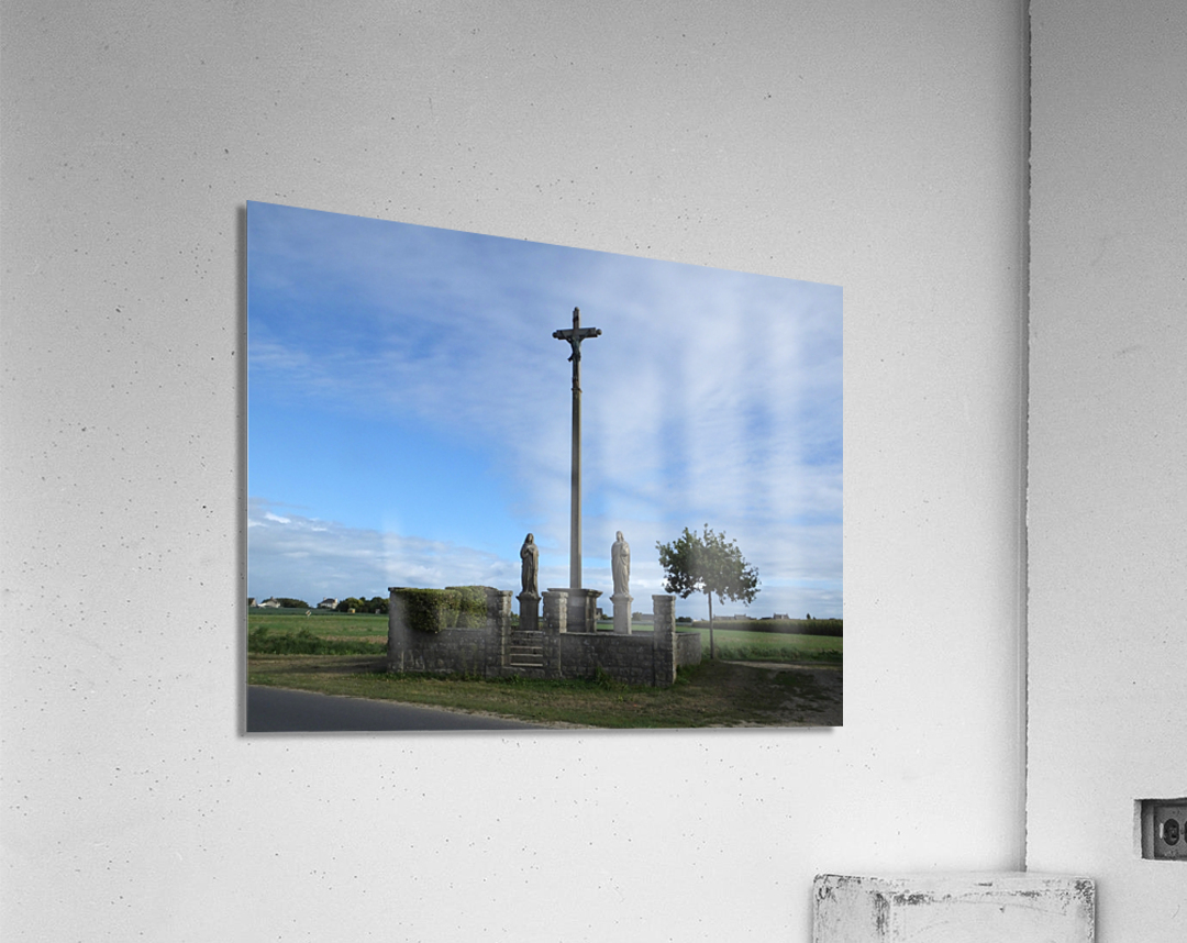 a la crois  e des chemins at the crossroads  Acrylic Print