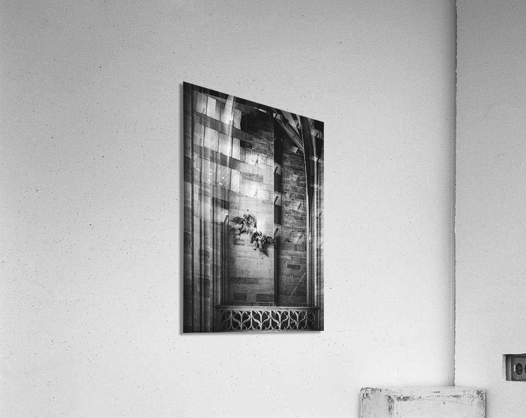 Gothic angels  Acrylic Print
