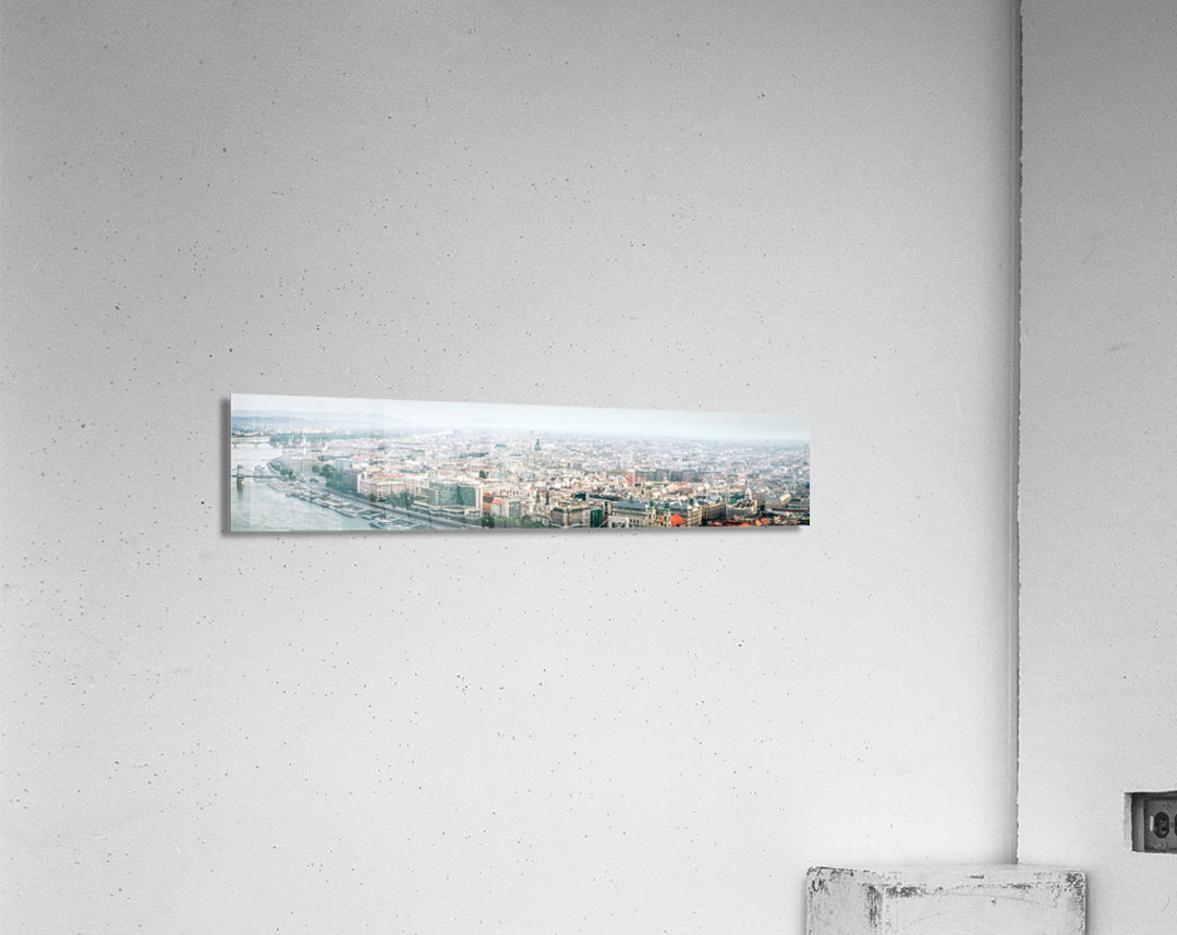 Budapest panorama  Acrylic Print