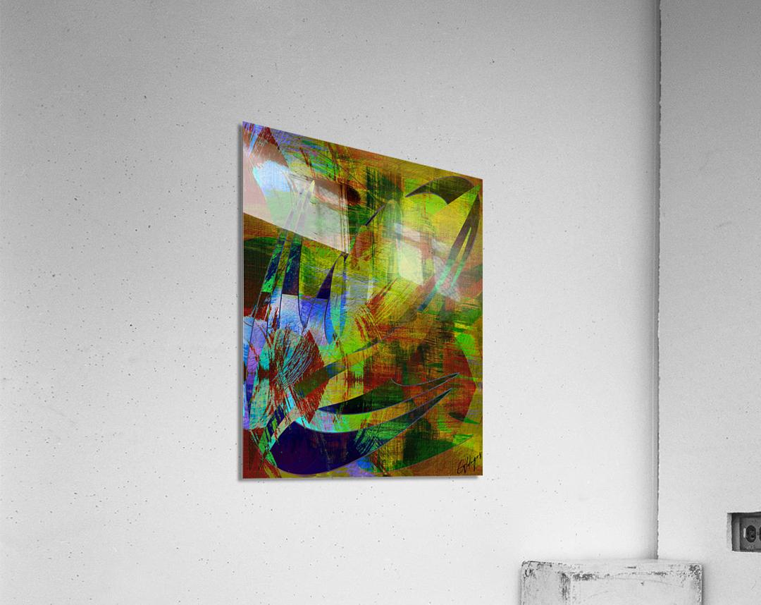 ABSTRACT-1007 SPATIAL  Acrylic Print