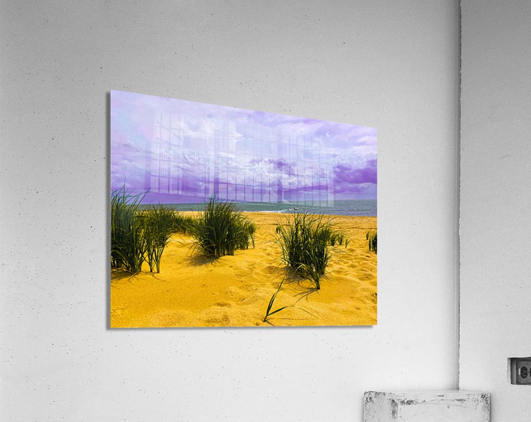 Dunes at Cape May  Acrylic Print