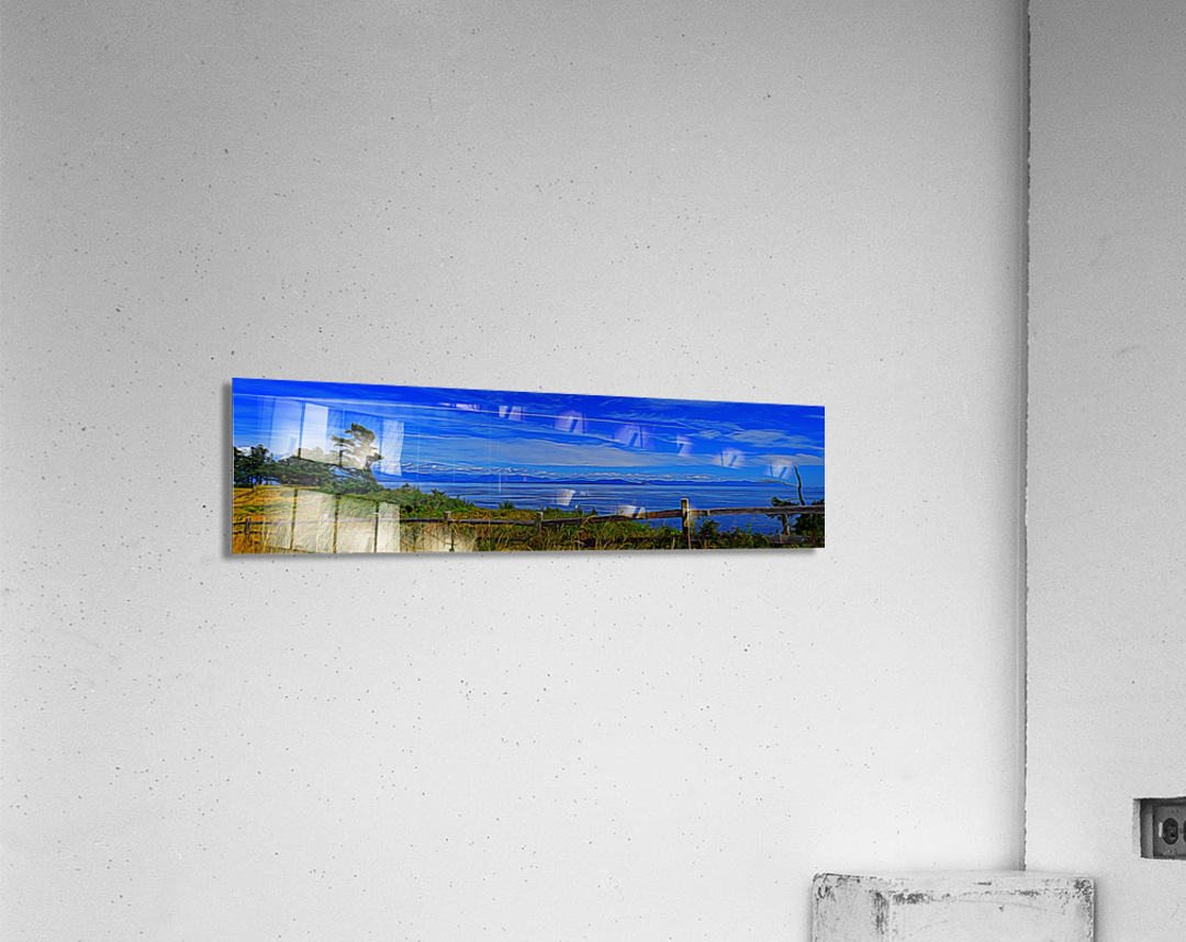 View from Cape Lazo  Acrylic Print