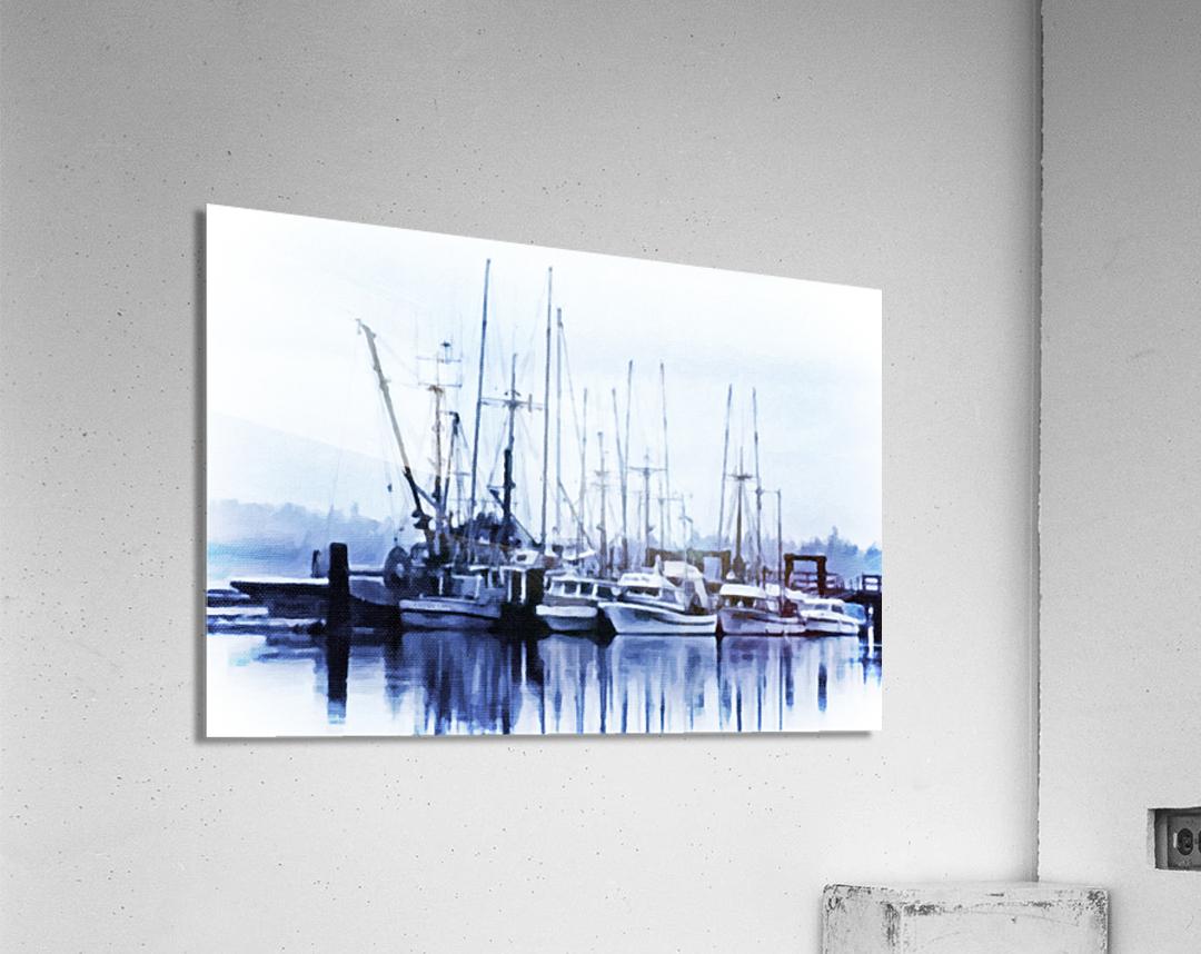 Fishers Wharf  Acrylic Print