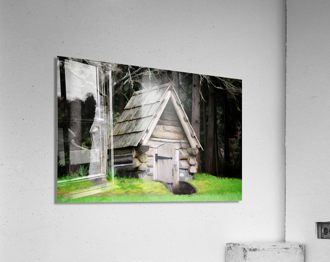 Old Root House  Acrylic Print