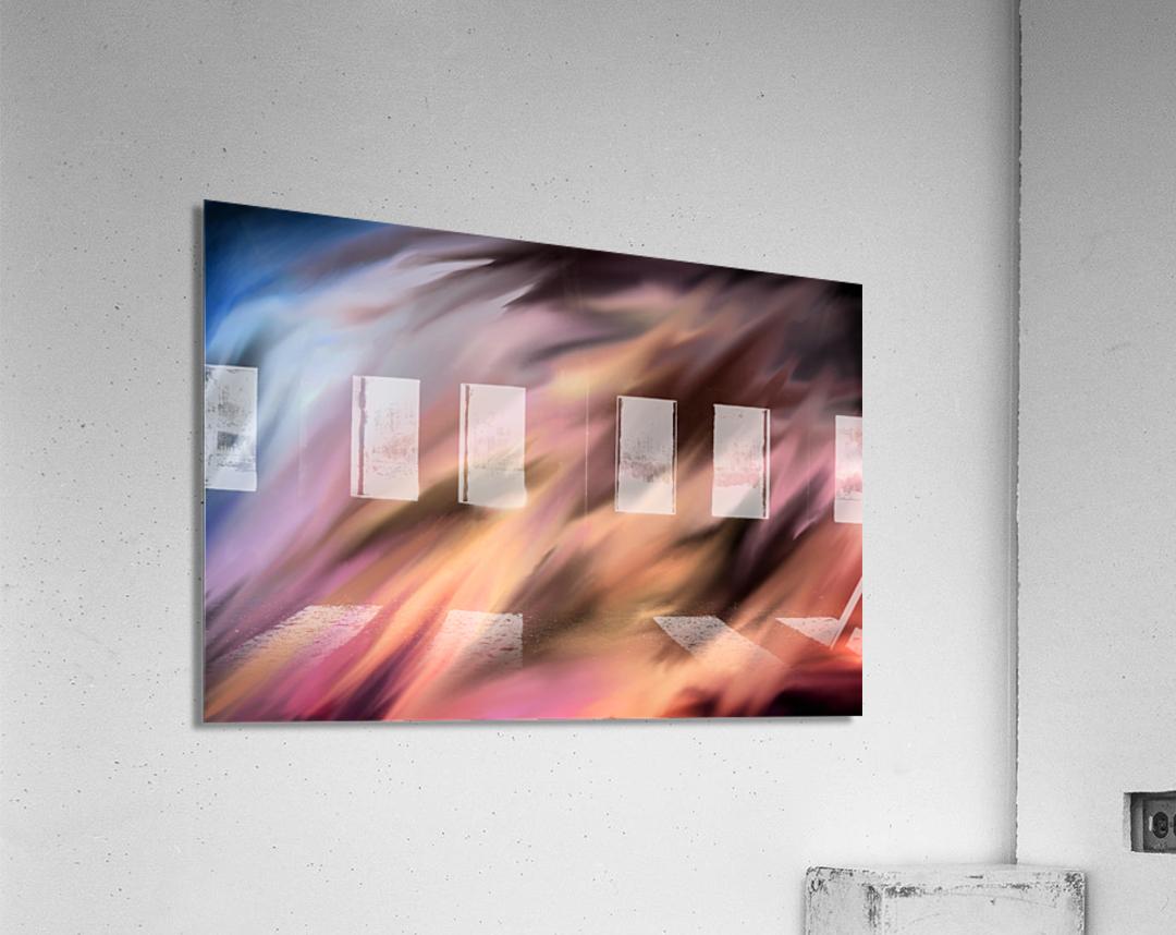 Turbulence  Acrylic Print