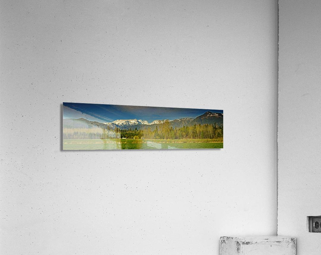 Comox Glacier Panorama  Acrylic Print