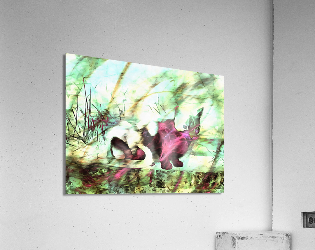 Cat Spirit  Acrylic Print