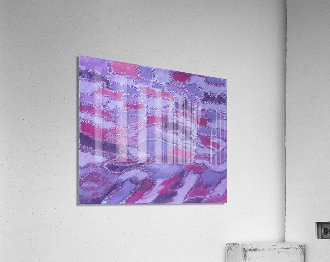 shades of purple  Acrylic Print