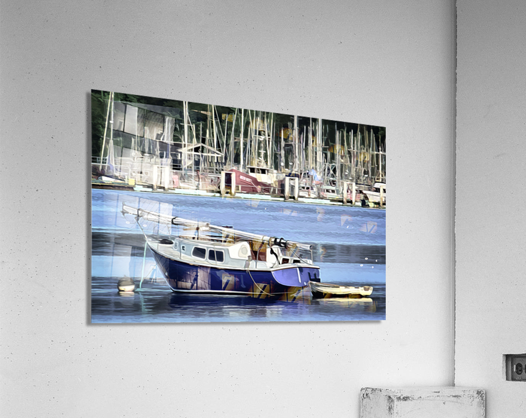 Resting in the Harbor  Acrylic Print