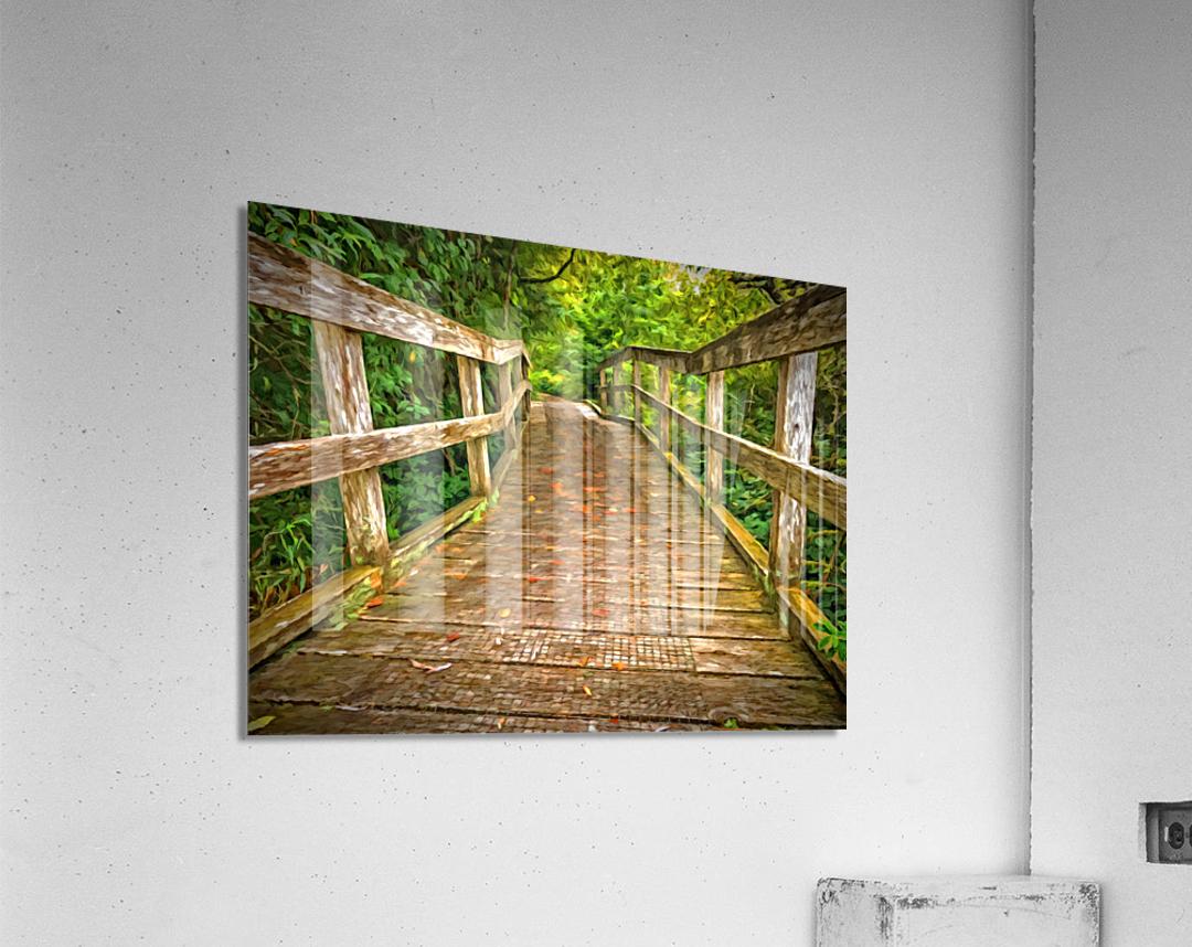 Bridge in the Sanctuary  Acrylic Print