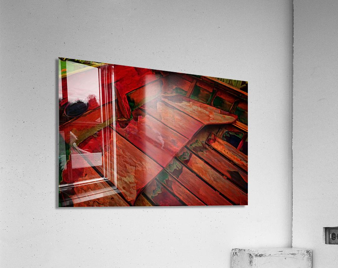 Rowboat Abstract  Acrylic Print