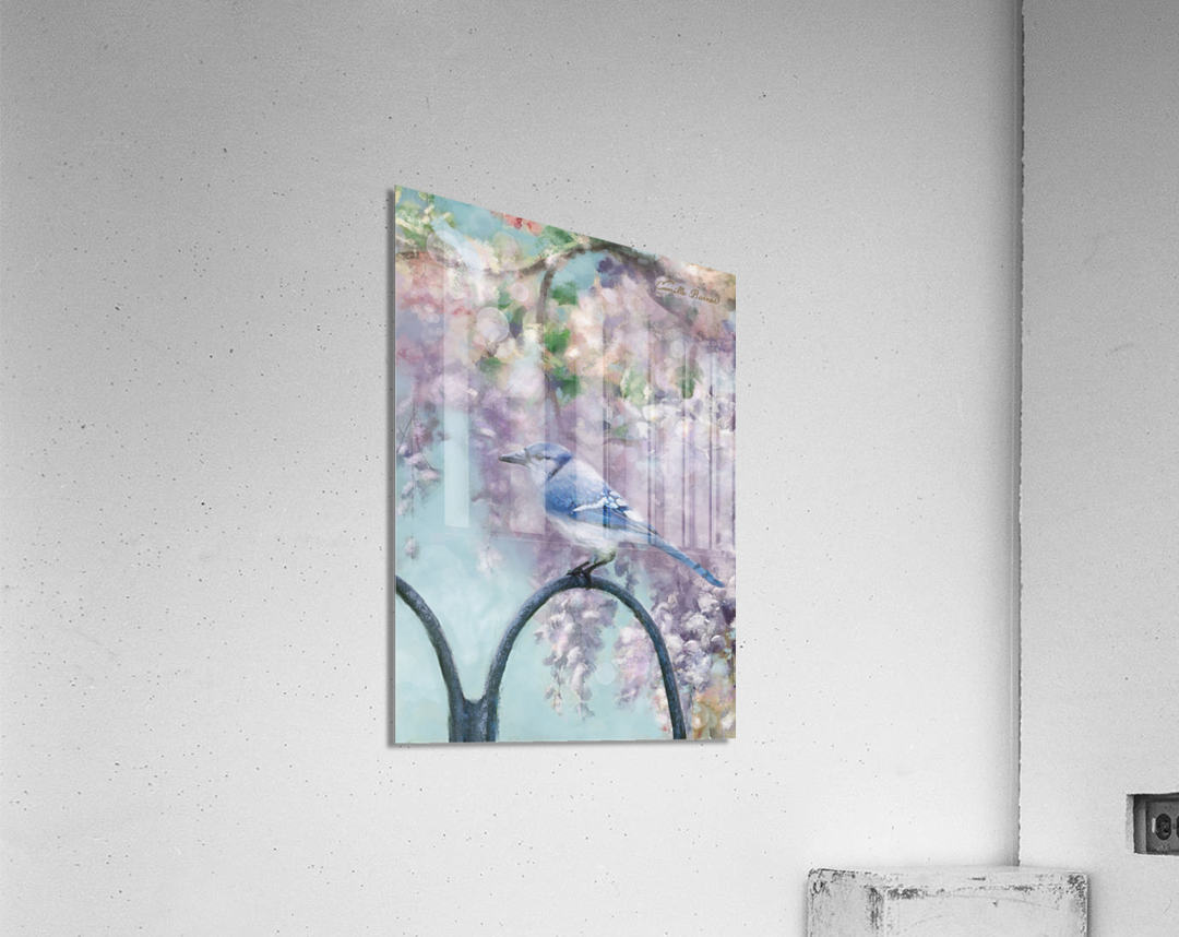 Garden bird  Acrylic Print