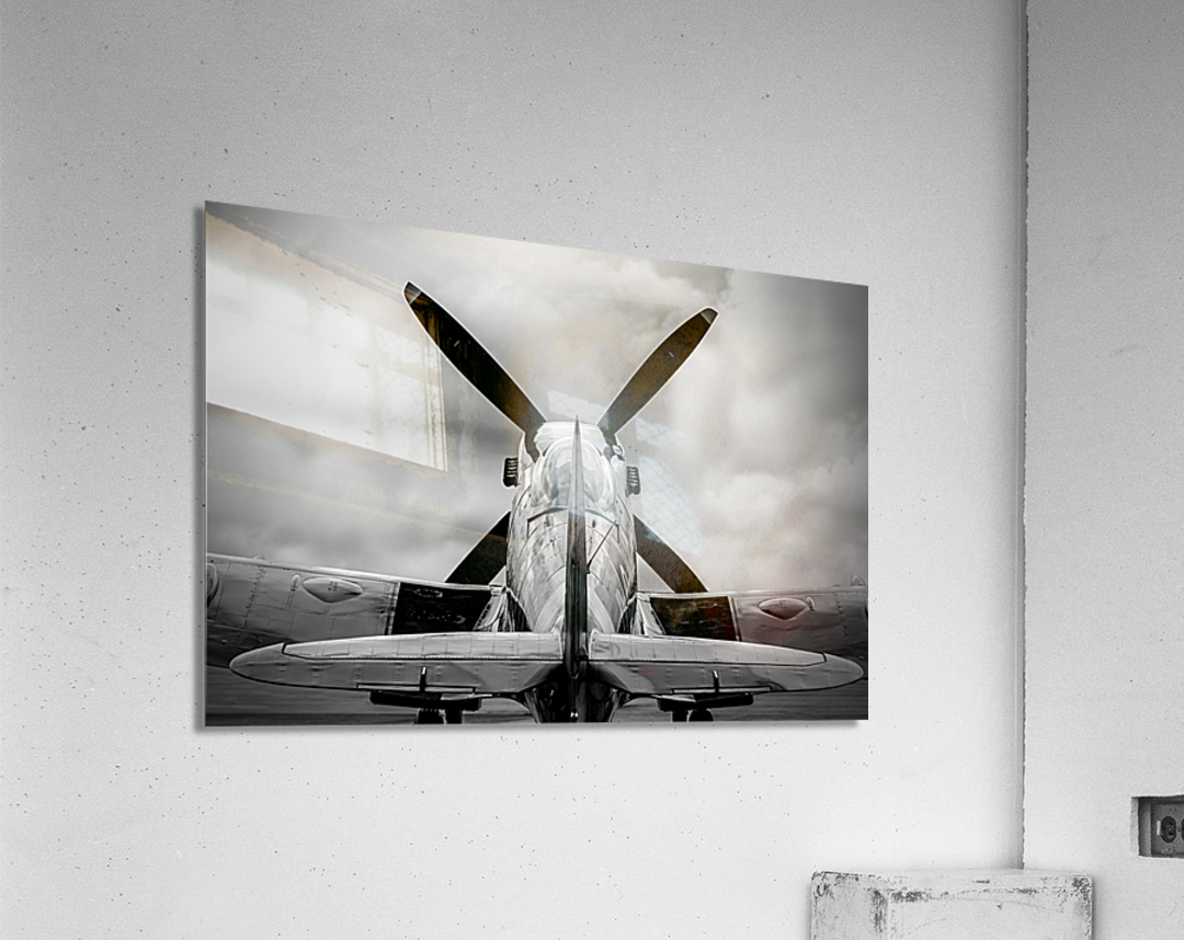 Spitfire Backside Limited Edition 50 Prints only  Acrylic Print