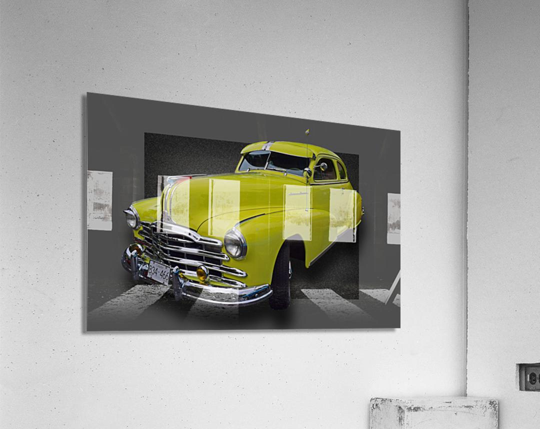 1948 Pontiac Silver Streak  Acrylic Print