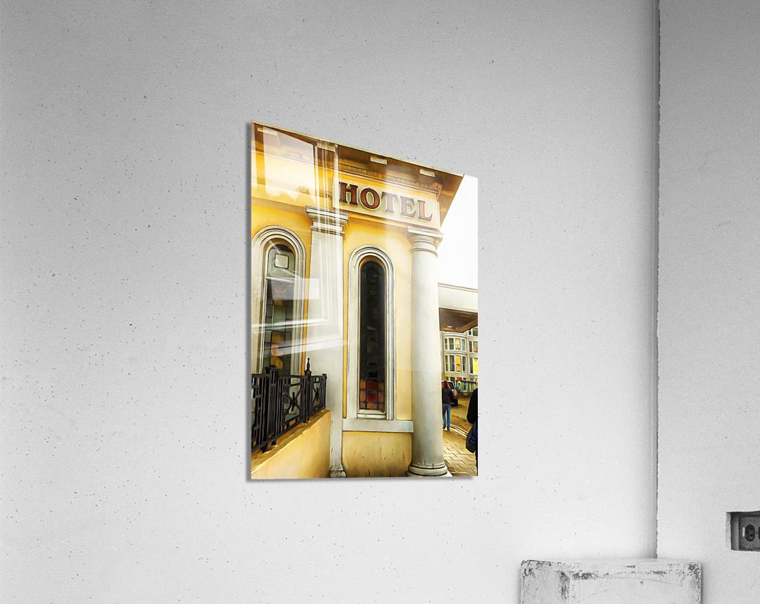 Royal Albion Hotel Brighton Entrance  Acrylic Print