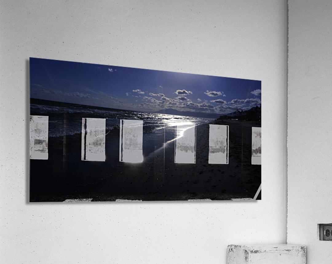 Reflections - Beneath the Moonlit Skies  Acrylic Print
