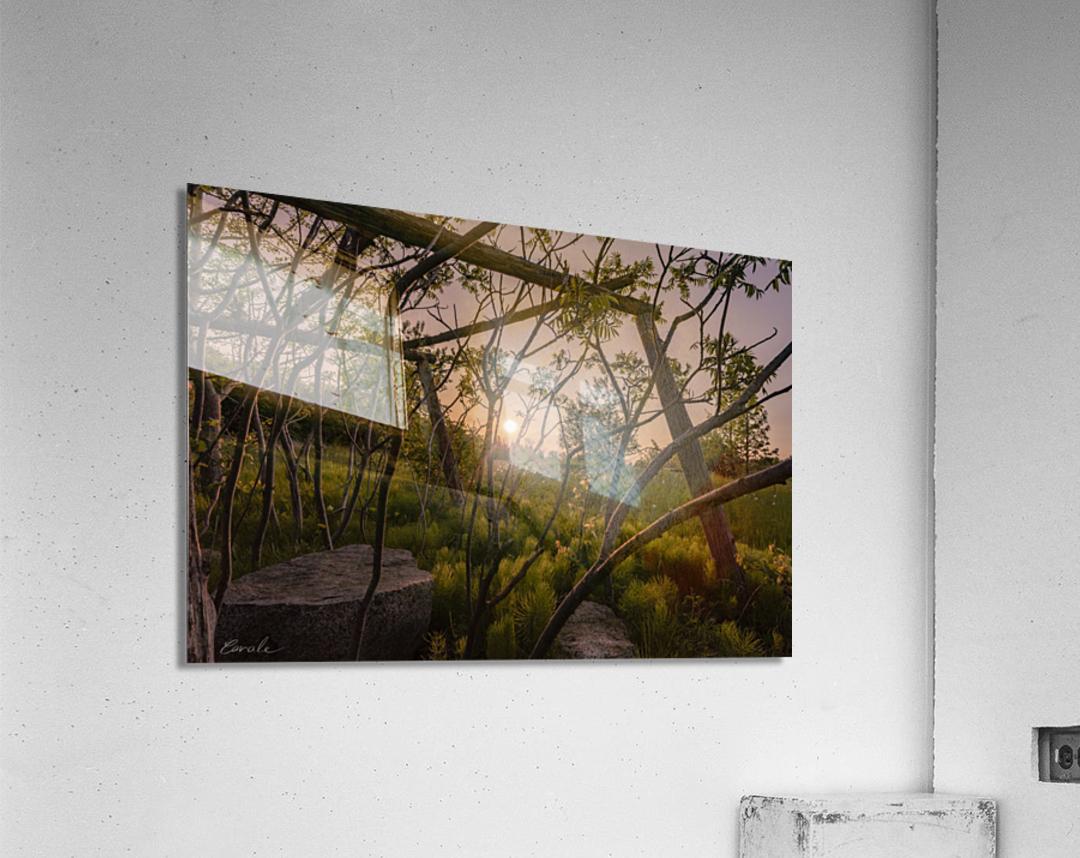Un lieu pour mediter - A place to meditate  Acrylic Print