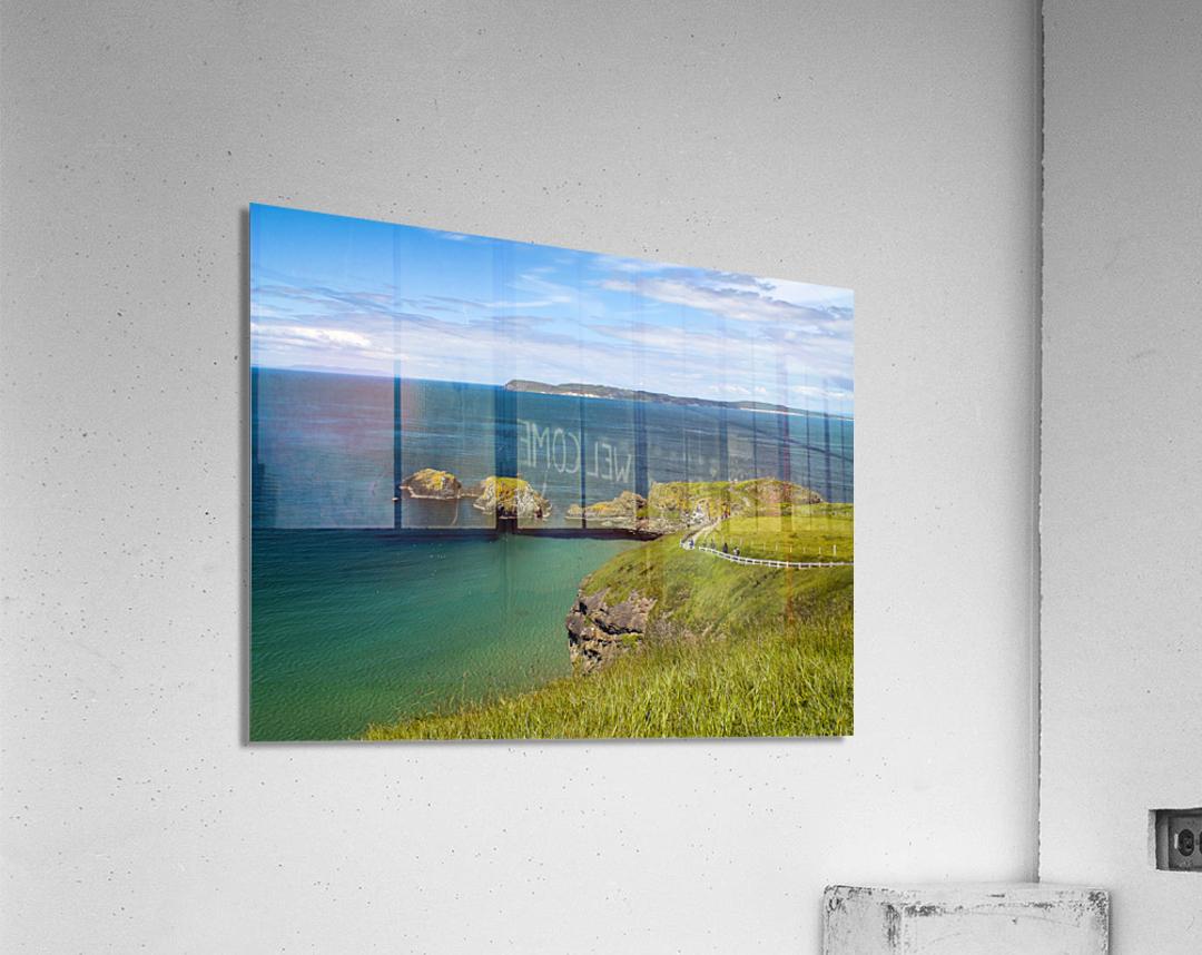 Northern Ireland Coast View  Acrylic Print